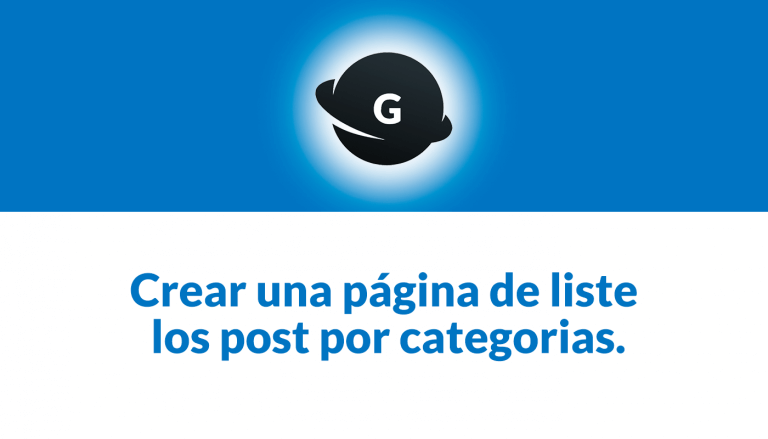 listar post por categorias en wordpress