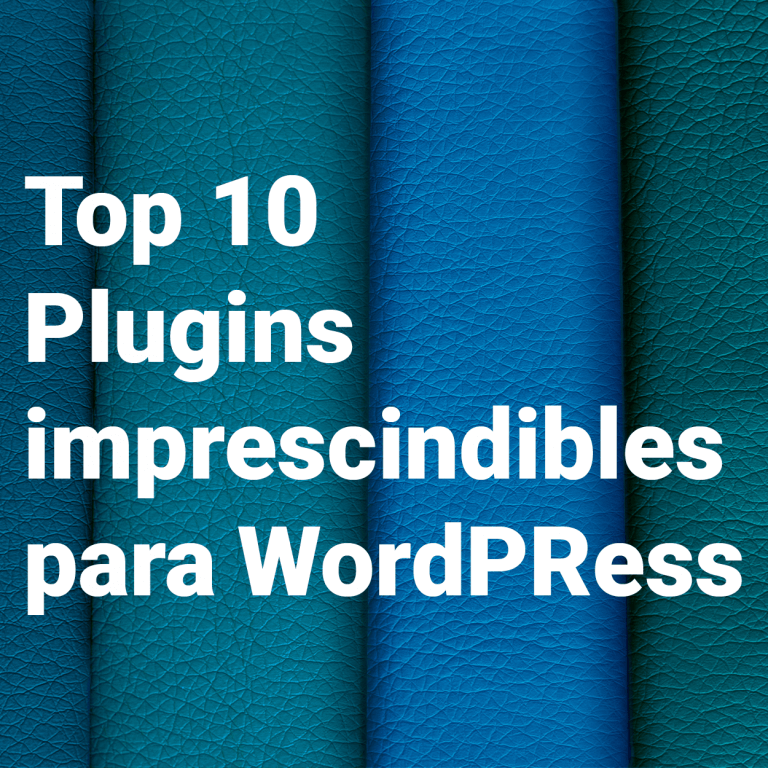 top 10 plugin para wordpress